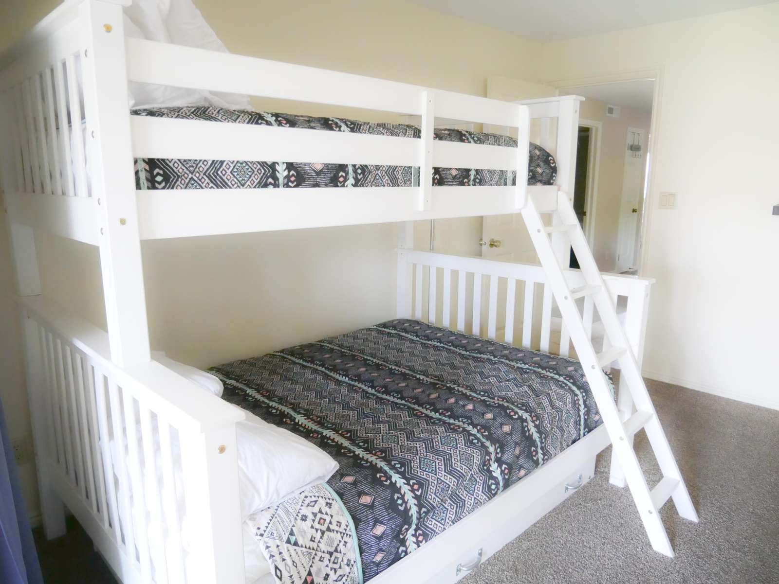 Bedroom 3 - Twin Over Full + Twin Trundle