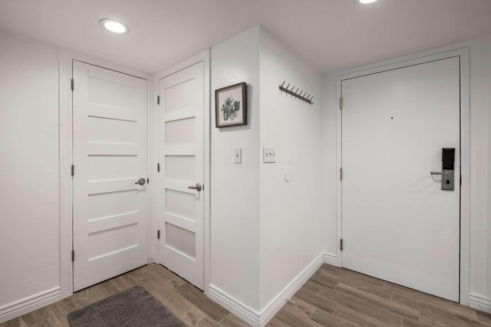 Condo entry door
