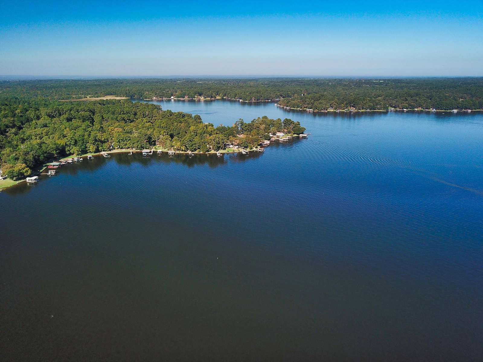 Houston County Lake is a spring fed lake. It's a great fishing and swimming lake.