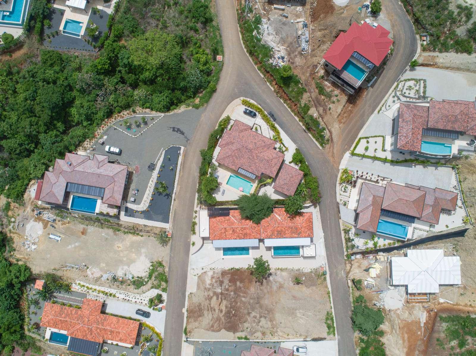 Dos Rios aerial view