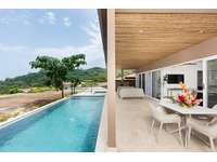 Private pool, dining area, BBQ thumb