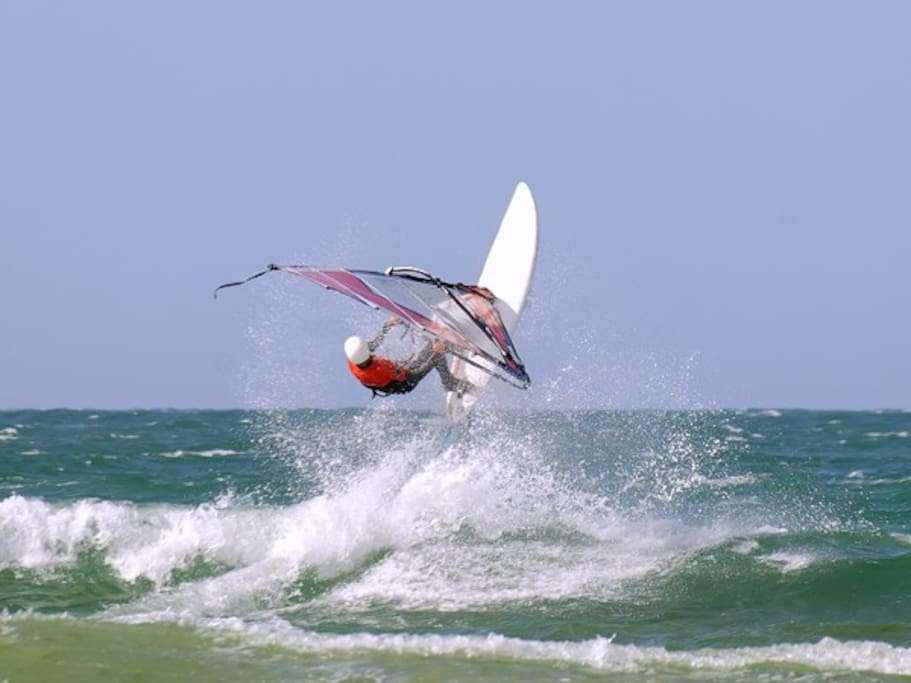 world class windsurfing