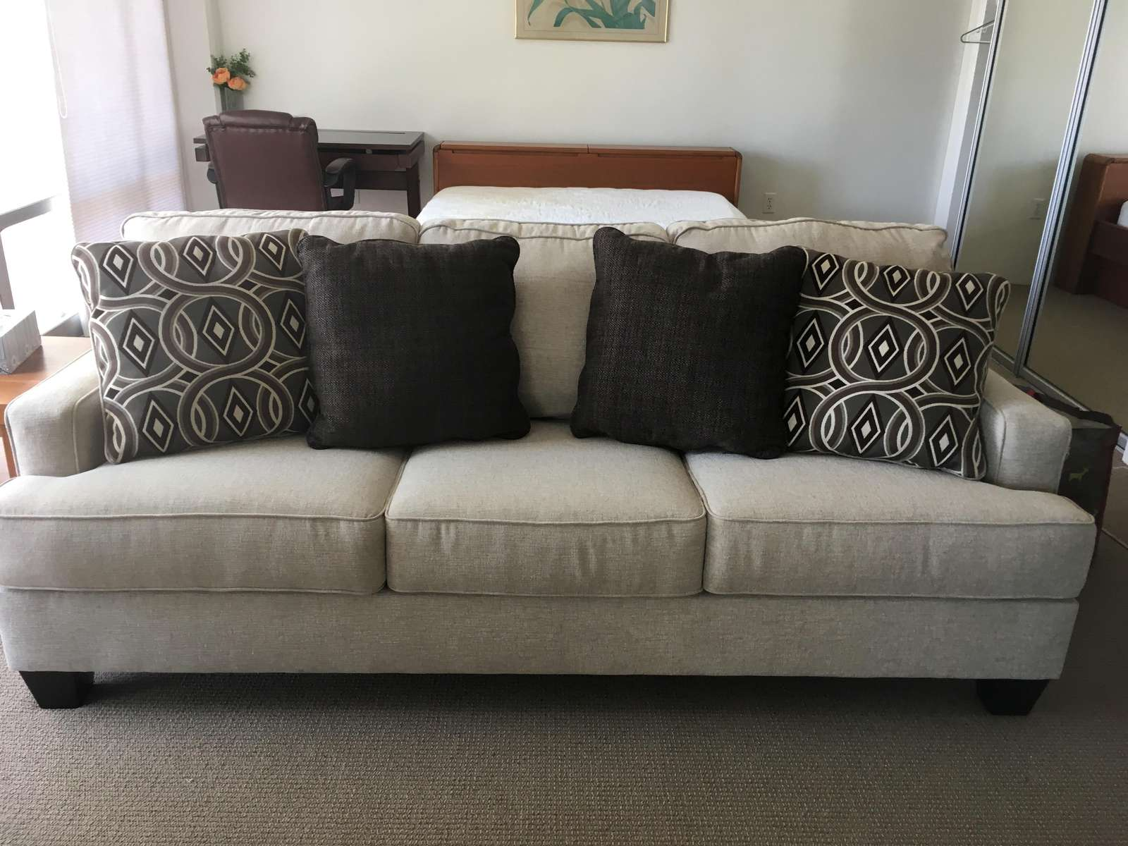 New Memory Foam Pull Out Sofa