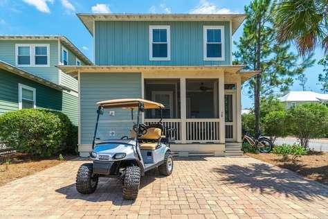 Beach Blessings - Golf Cart