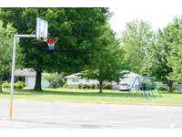 Basketball court directly across the street thumb