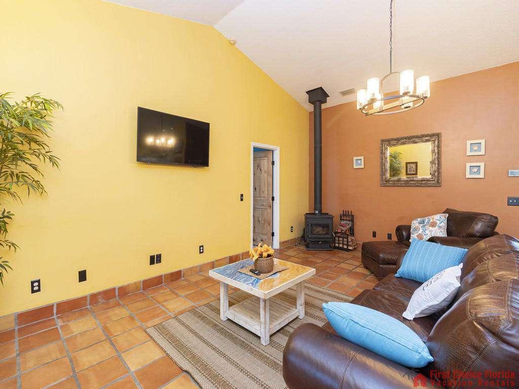 Coastal Hideaway Living Room