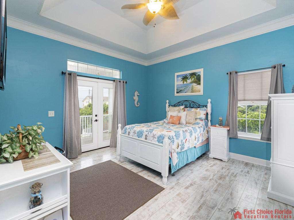 Coastal Hideaway Master Bedroom