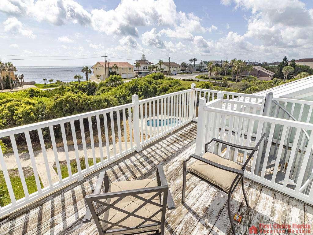 Coastal Hideaway Patio View