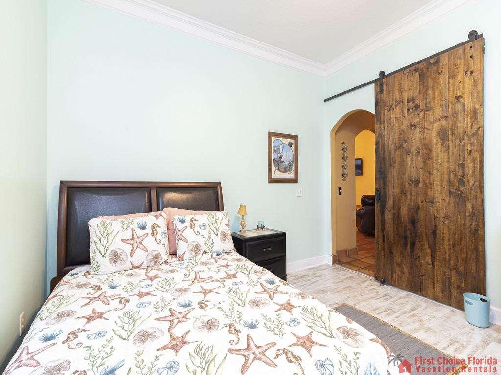 Coastal Hideaway Bed and Doorway