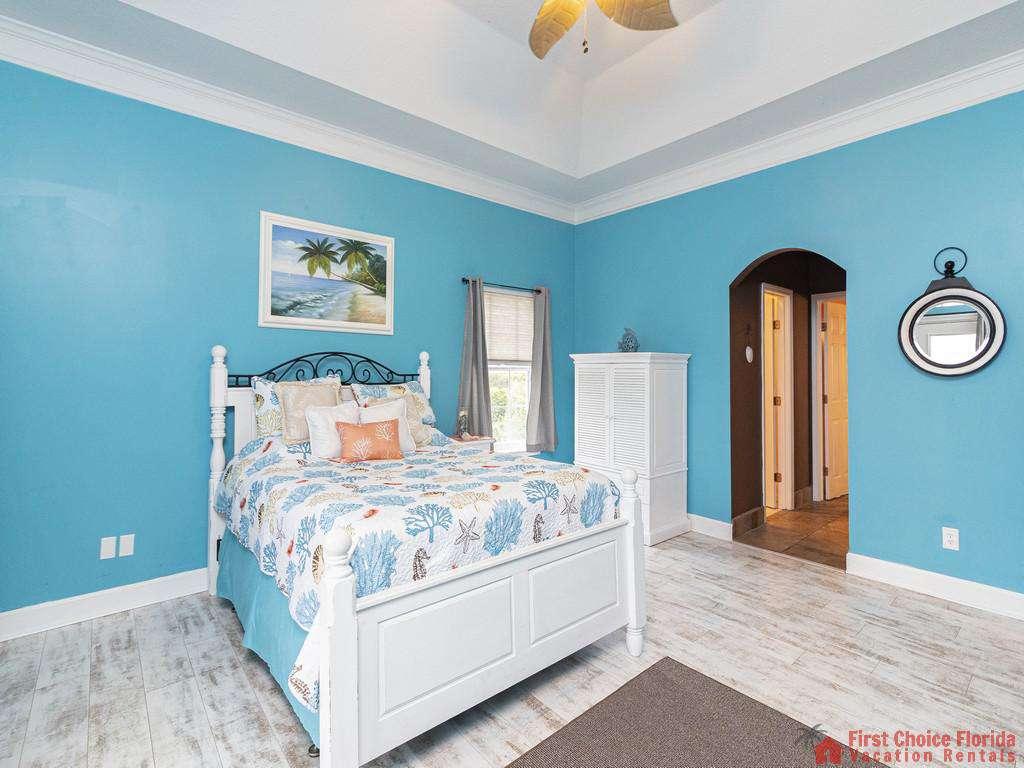 Coastal Hideaway Bedroom to Hallway