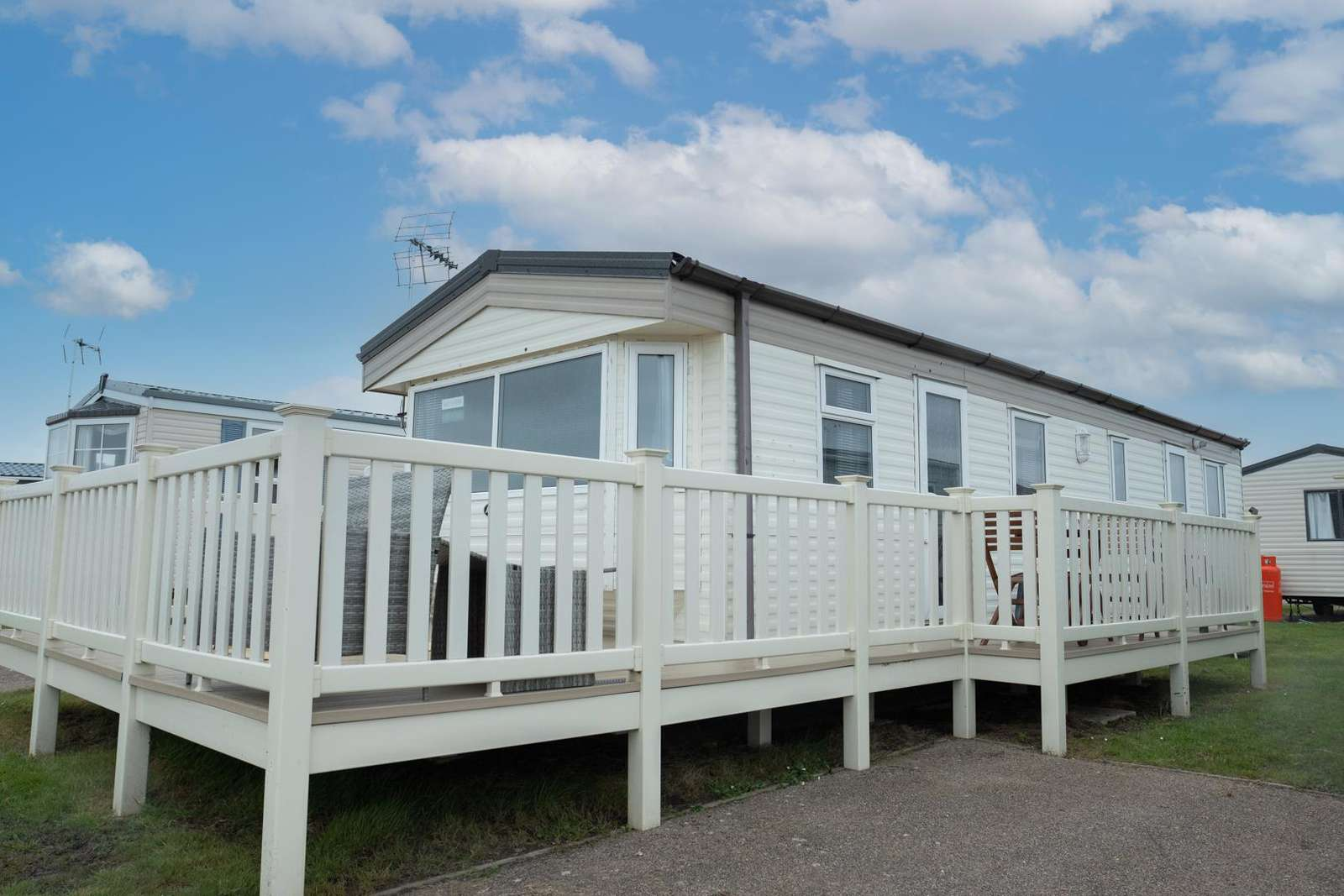 29012BW – Backwaters, 2 bed, 6 berth caravan with decking. Ruby rated. - property