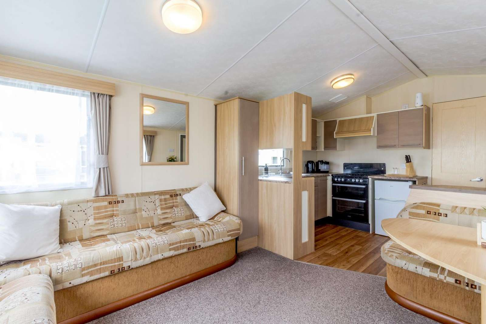 We ensure that all our caravans are cleaned to the highest standard