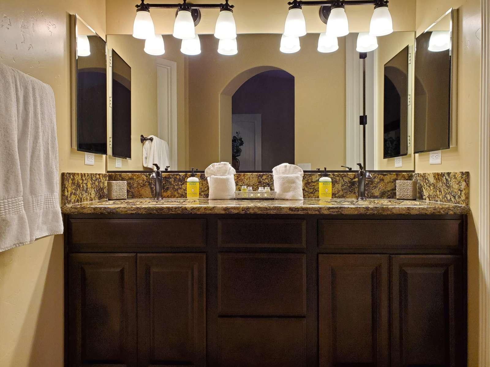 Dual Sink Master Vanity
