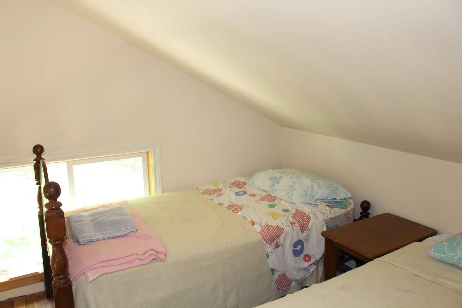 Single Bed in Loft