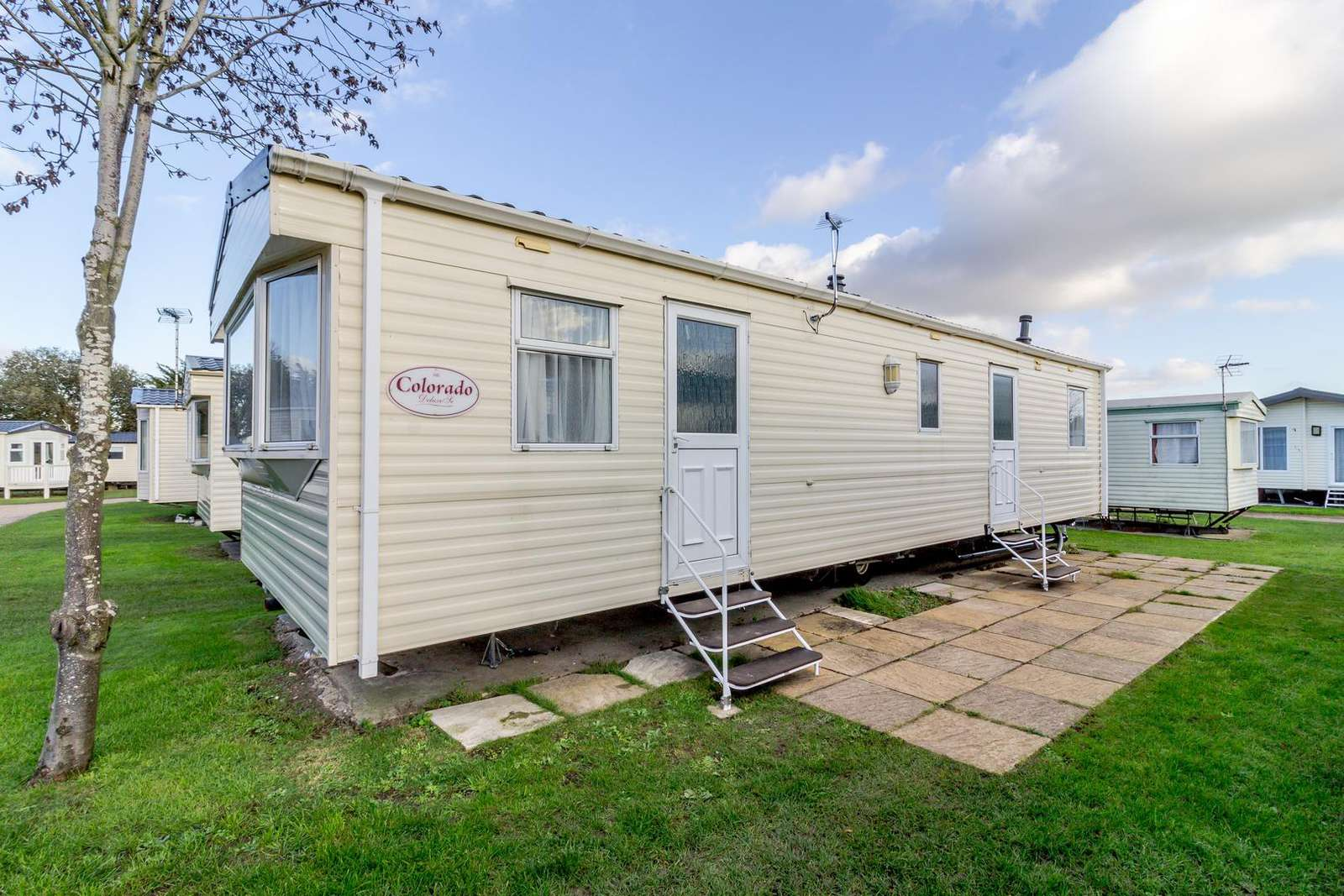 10038RP – Romans Parade area (Yare Side) 3 bed, 8 berth caravan. Emerald rated. - property