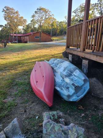 Kayaks available for use thumb