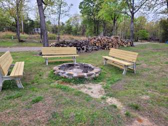 Firepit and Wood Included thumb
