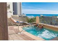 Spacious hot tub with beach views on the 4th floor! thumb
