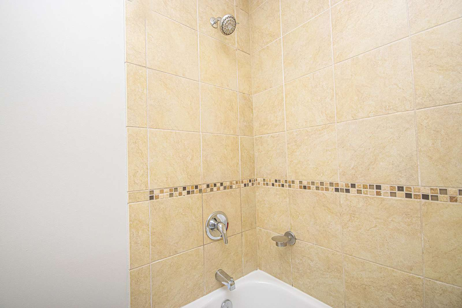 Shower/tub combination for bathing young children!