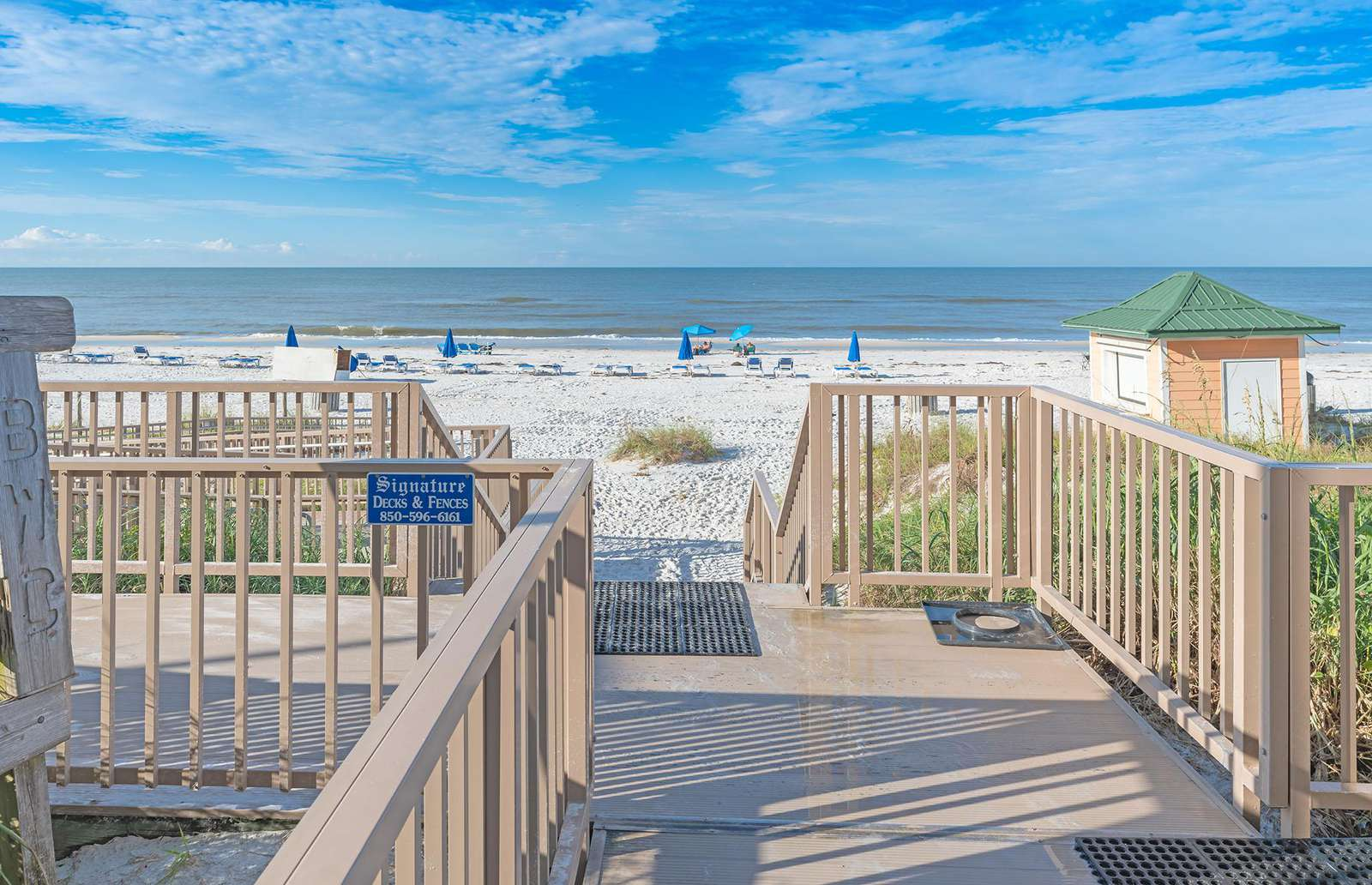 Direct access to the gorgeous Gulf of Mexico!