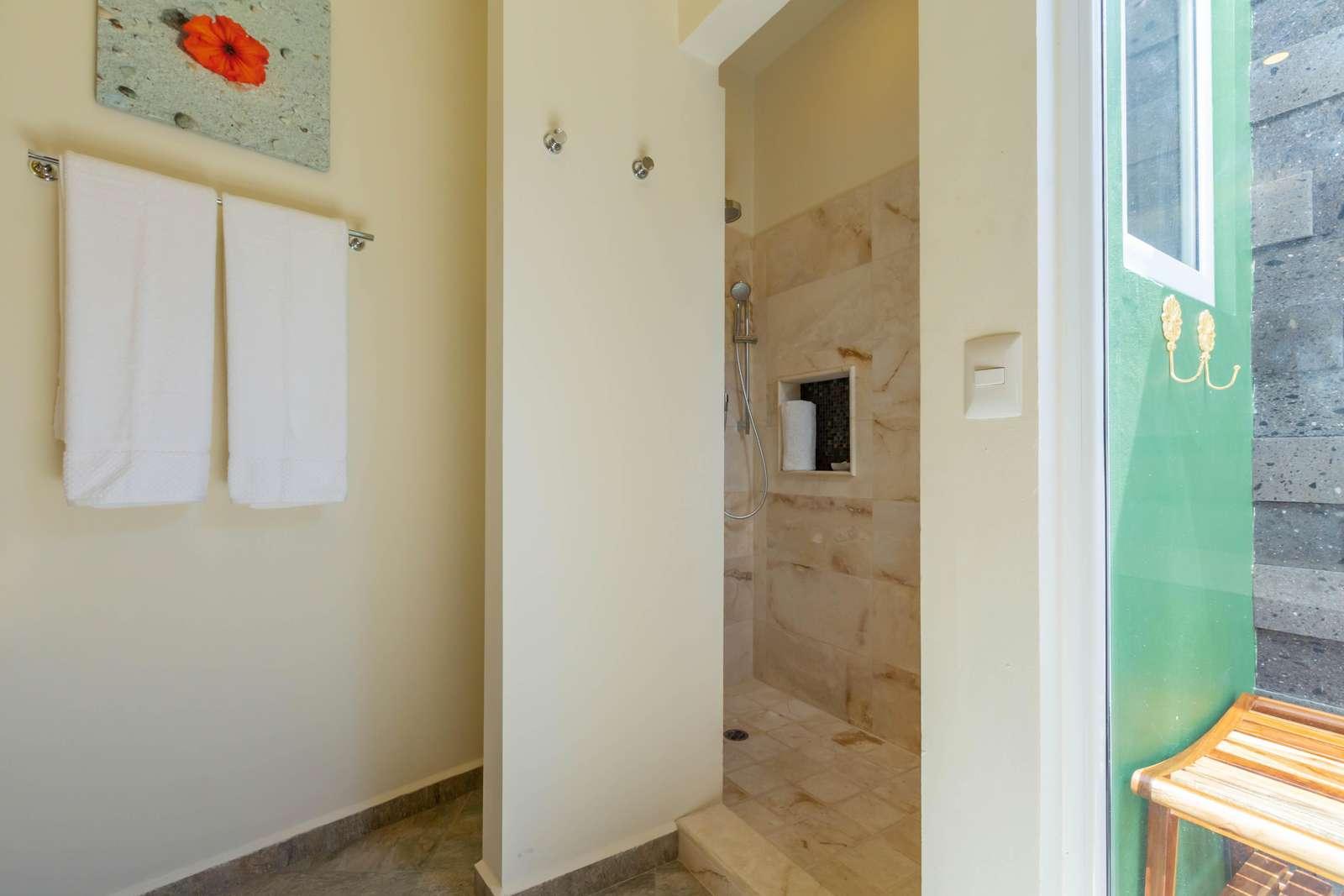 Guest House Outdoor/Indoor Shower