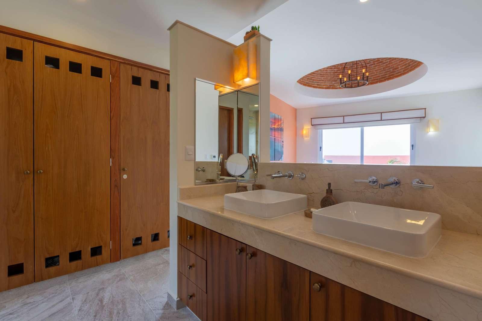 Master Bathroom His/Her Vanity