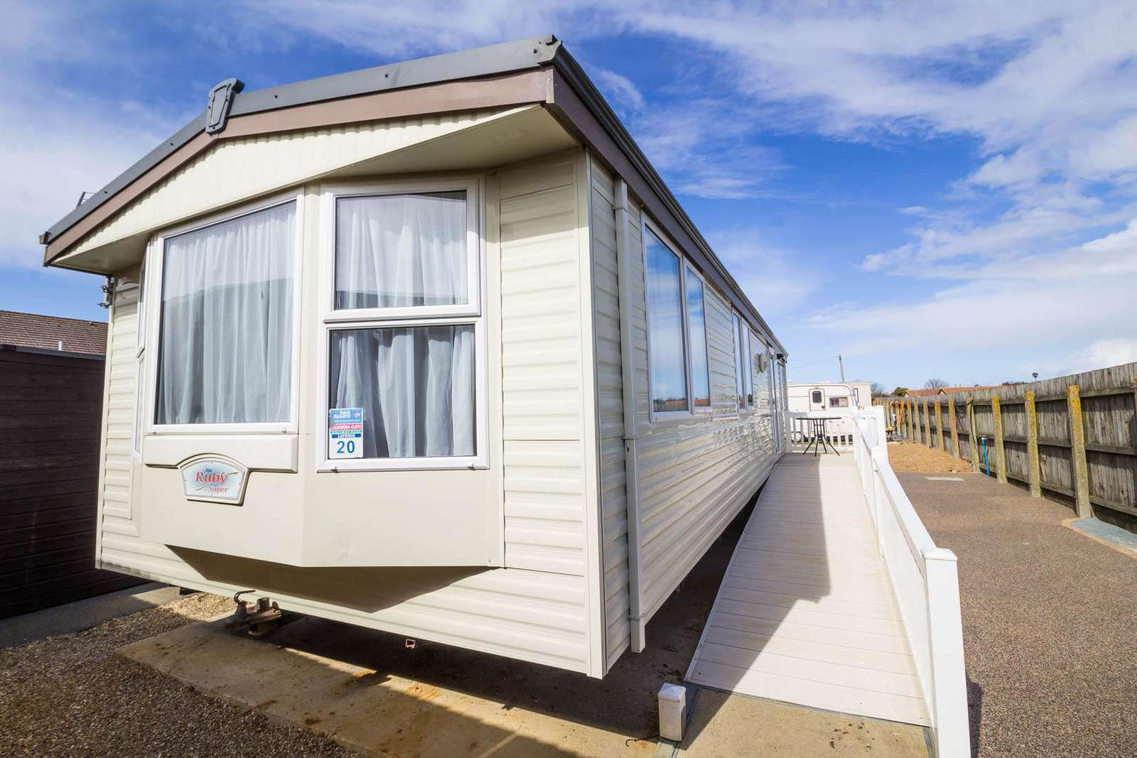 13016L – Lee's, 2 bed, 6 berth caravan. Fully wheelchair accessible. Ruby rated. - property