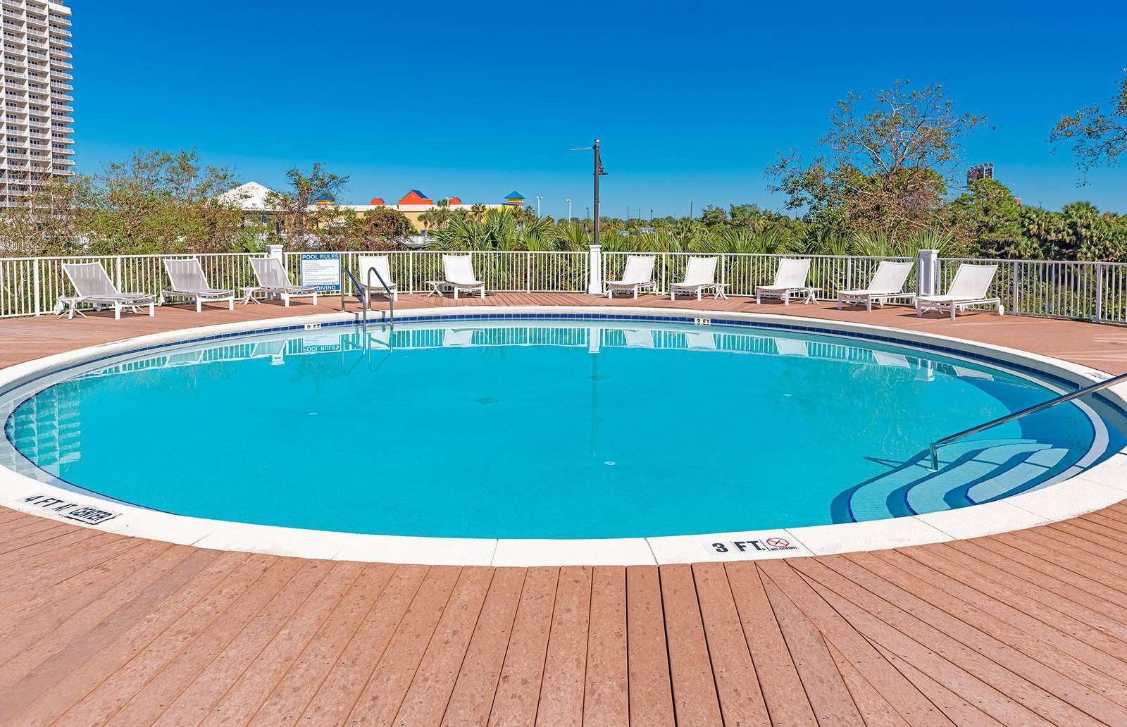 Your family will surely love one of the five onsite pools!
