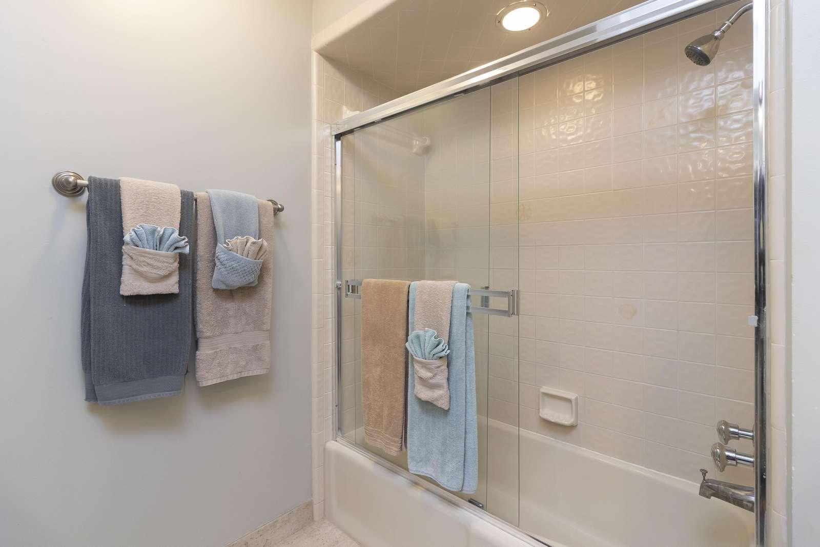 Ocean Sunrise - Guest Bathroom 2nd Floor