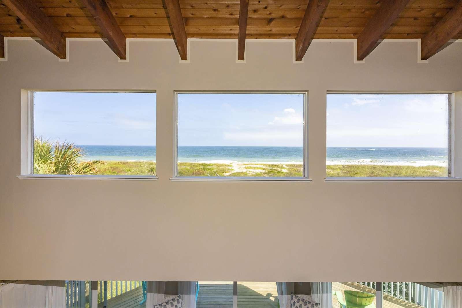 Ocean Sunrise Windows