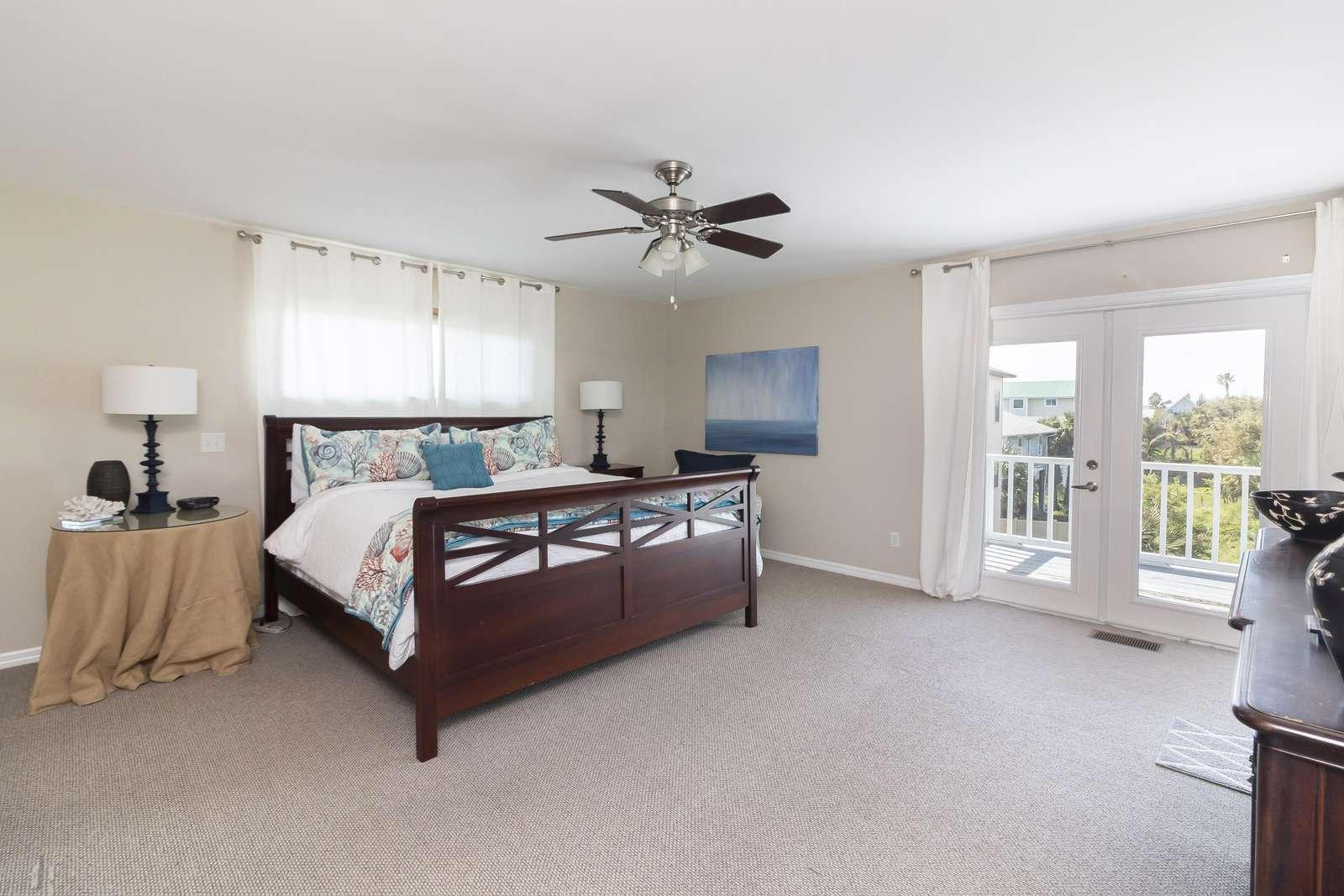 Ocean Sunrise - Master Bedroom