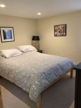 Bedroom 2 with queen bed thumb