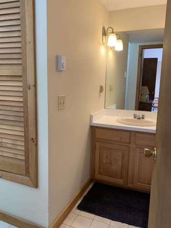 Master bathroom with full shower thumb