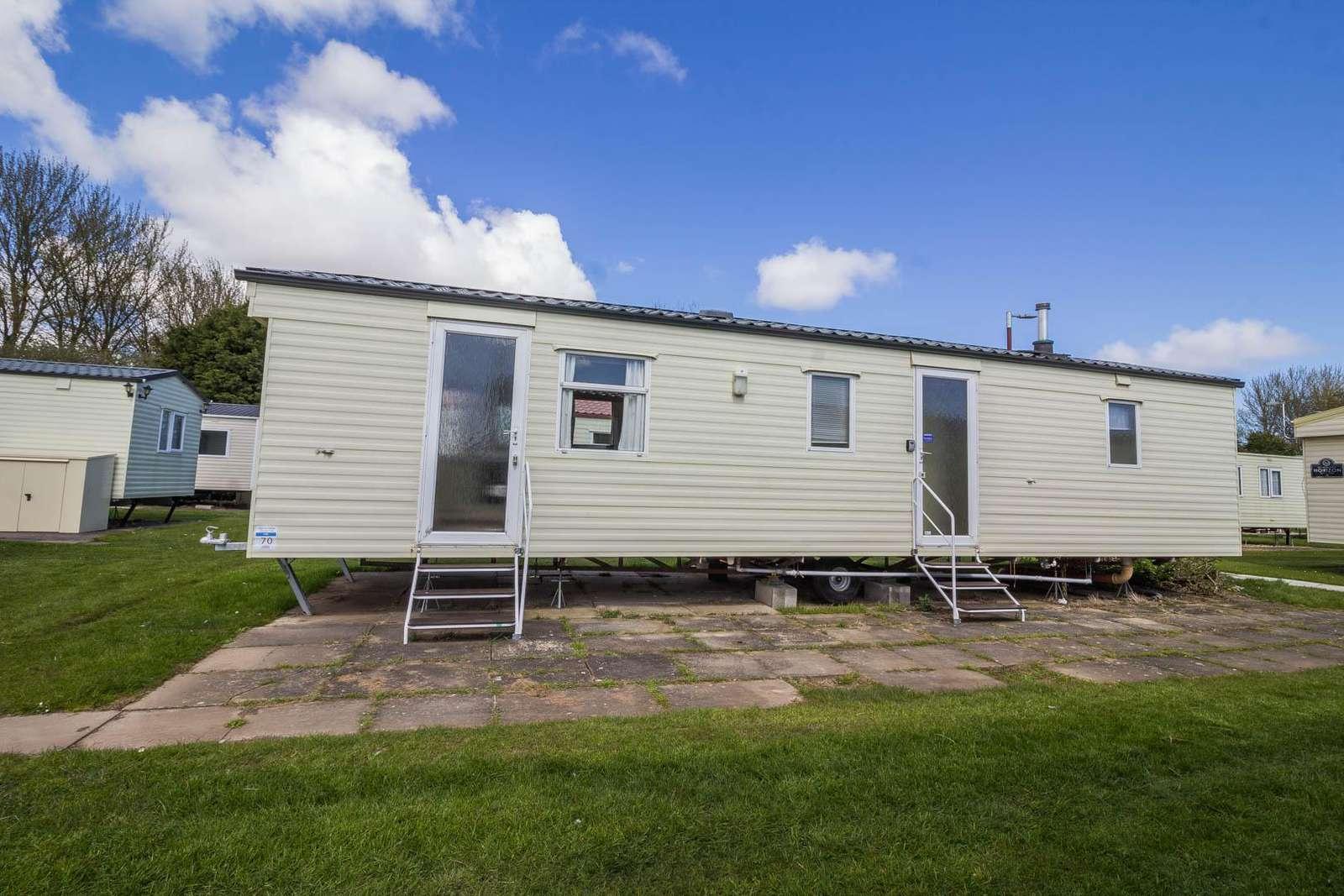 33070F – Firs area, 3 bed, 8 berth caravan. Emerald rated. - property
