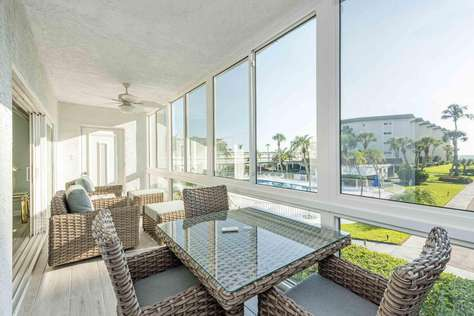 Superb 2/2 Lido Harbor South on Lido Beach w/ Sea View & Pool View