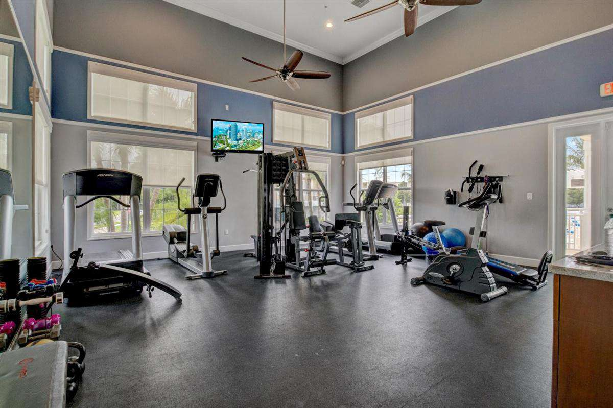 Onsite community fitness center