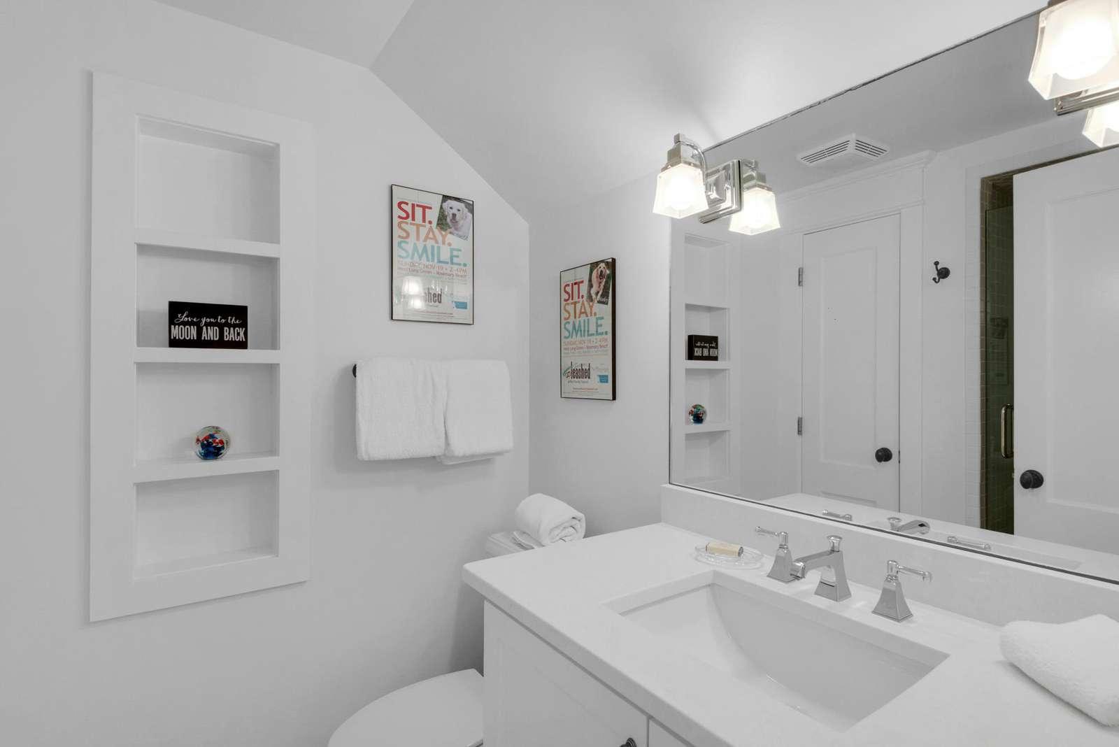 Third Floor Bathroom W/Walk-in Shower