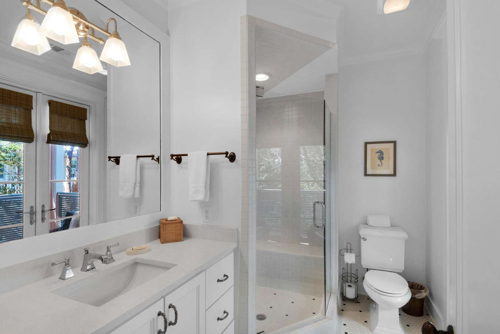 Master Bath W/Walk-in Shower
