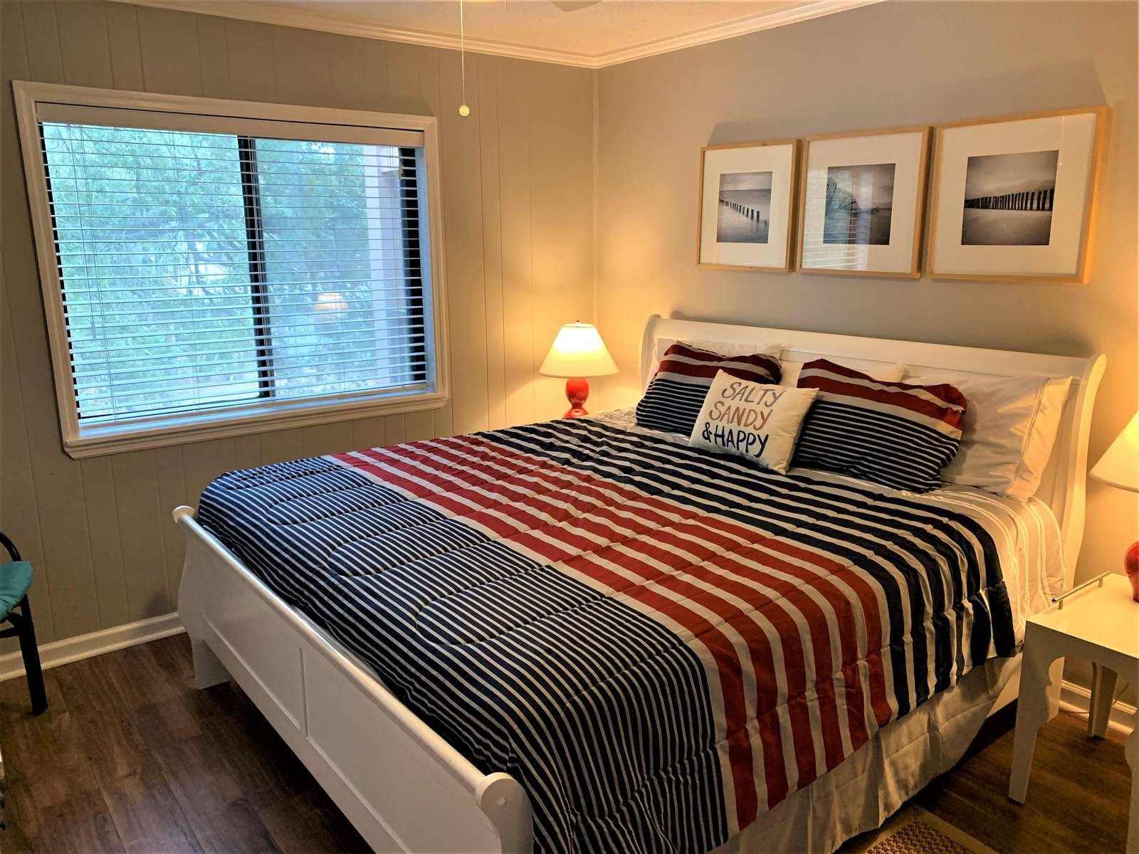 New King size Bed in Master