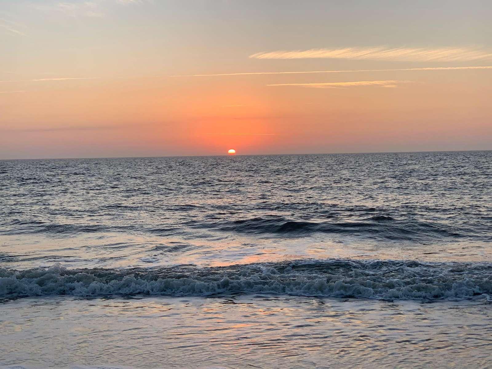 Sunrise at Hilton Head Beach and Tennis.  Easy short walk!!
