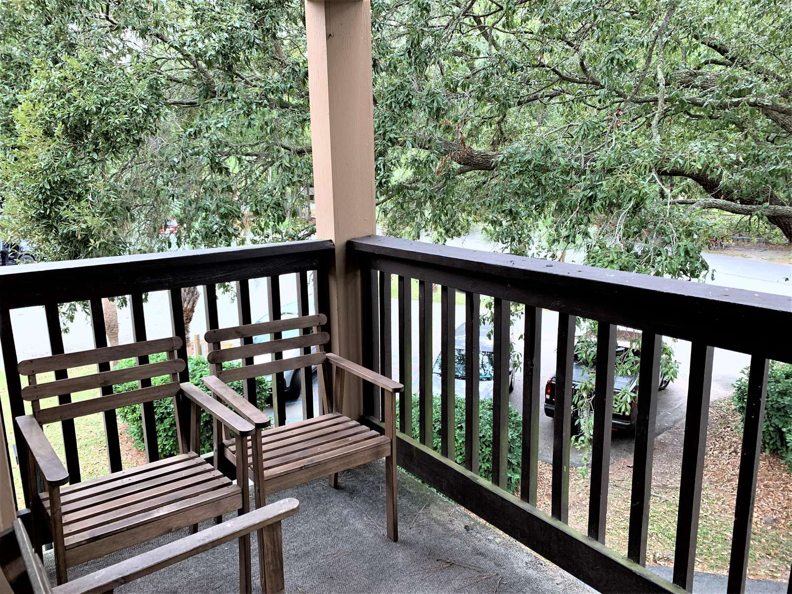 Relaxing views from Deck