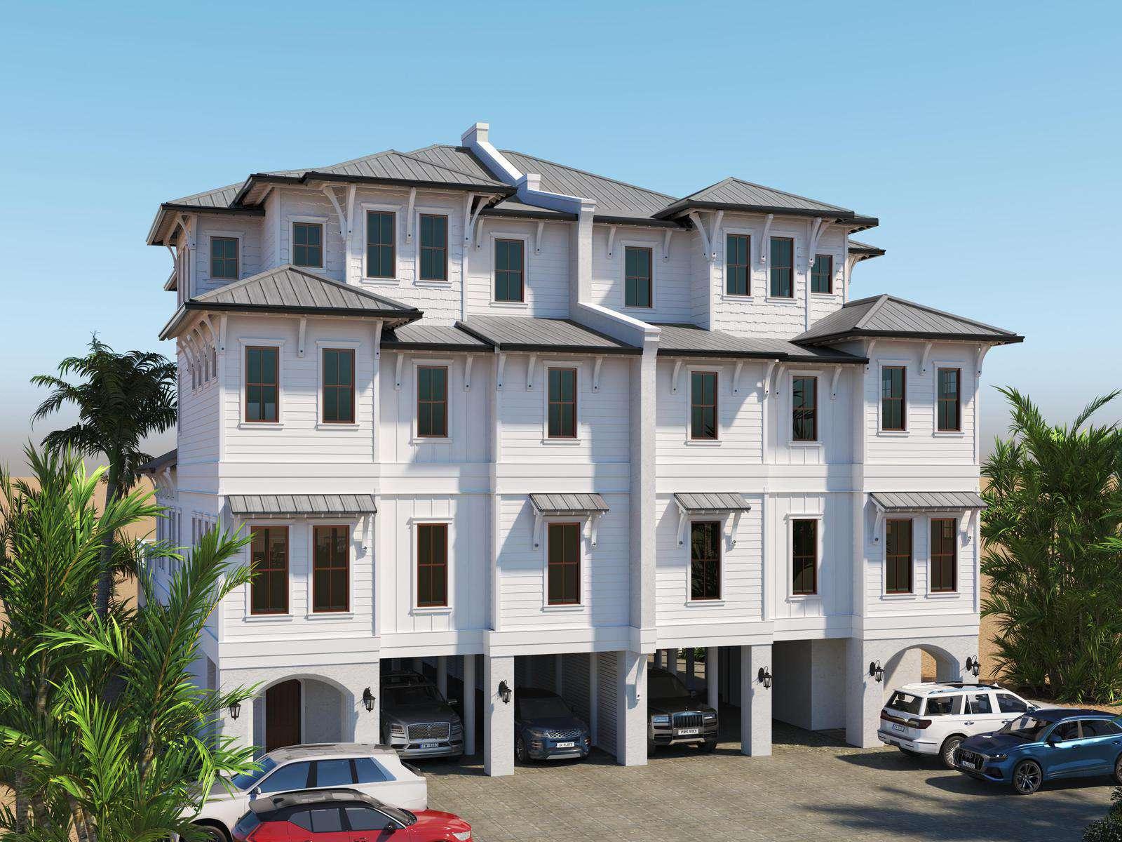 Seaside East and West ( 2 Properties - 24 Bedrooms)