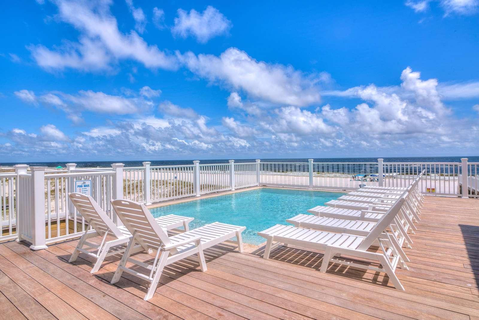 24x15 custom gunite pool- East Pool Deck