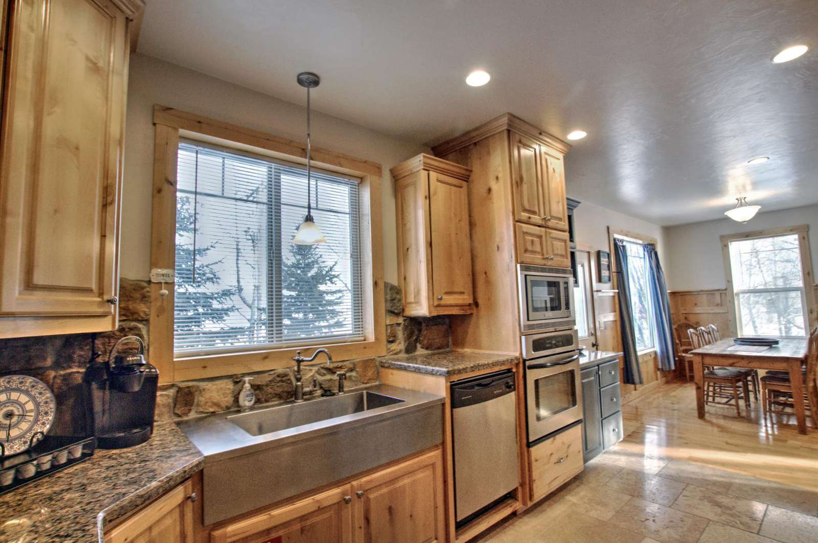 Kitchen & Dining Room - property