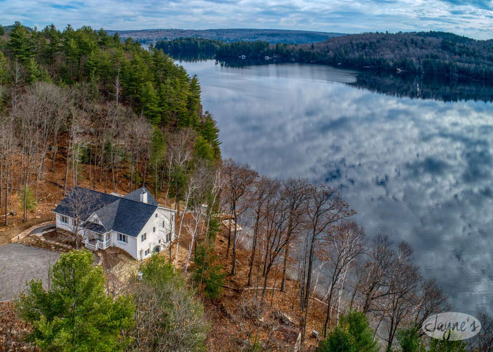 Aerial View - Late Season