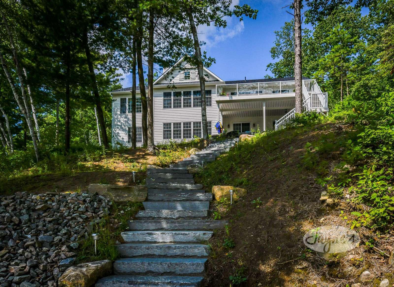 Stone Walkways & Stairs