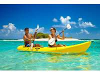 Kayaks avaliable for our guest to enjoy! thumb
