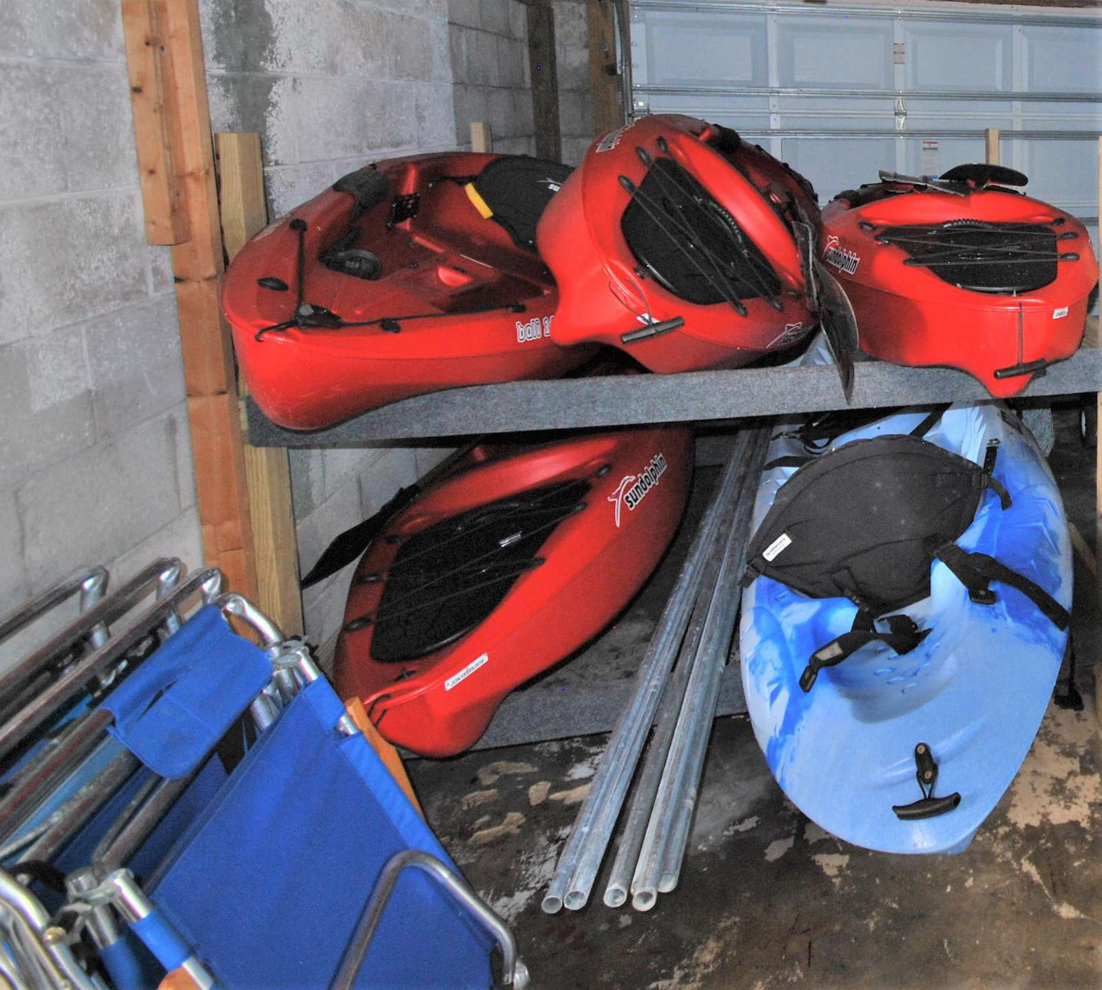 Kayaks for our guest to use and enjoy