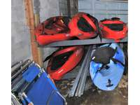 Kayaks for our guest to use and enjoy thumb