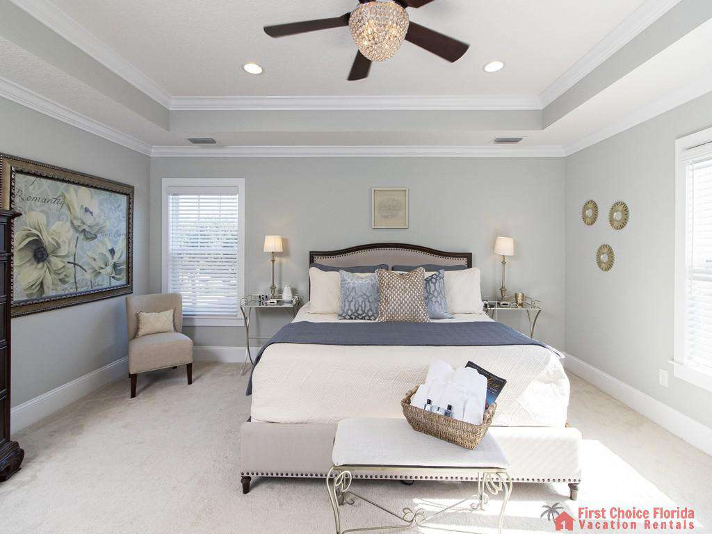 Seaside Retreat - Master King Bedroom